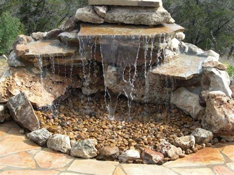 homemade waterfalls backyard 25 best ideas about homemade water fountains on pinterest