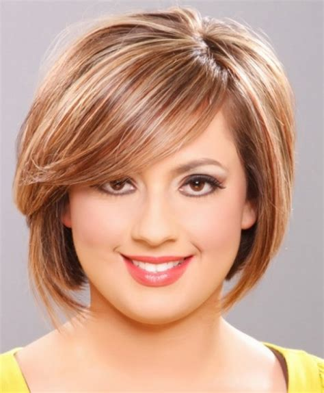 hairstyles round face double chin simple hairstyle for short hairstyles for fat faces and