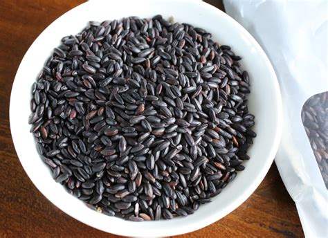black glutinous rice multigrain rice japgokbap recipe maangchi com