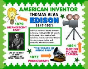 13 best images about thomas edison project on pinterest