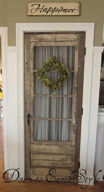 unique interior door ideas rustic crafts chic decor