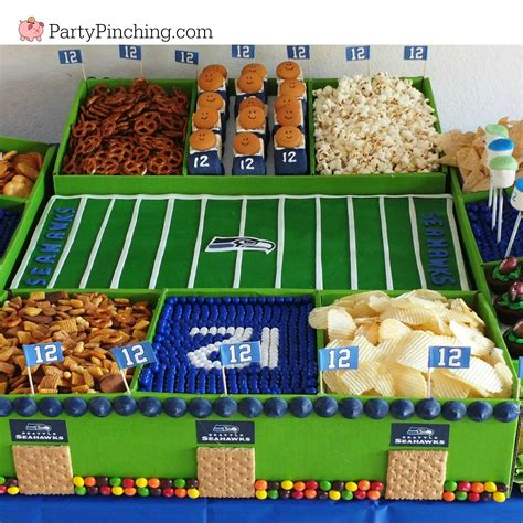 best superbowl snacks best bowl snack stadium seattle seahawks