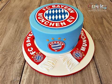 bayern münchen kuchen bayern munchen cake the cake society
