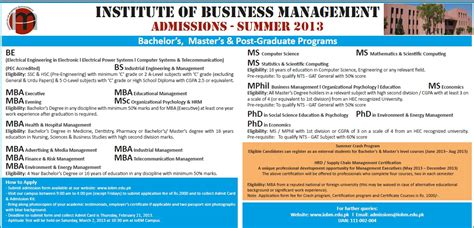 Mba Or Ms Management by Iobm Summer Admission 2014 Mba Ms Mphil Phd