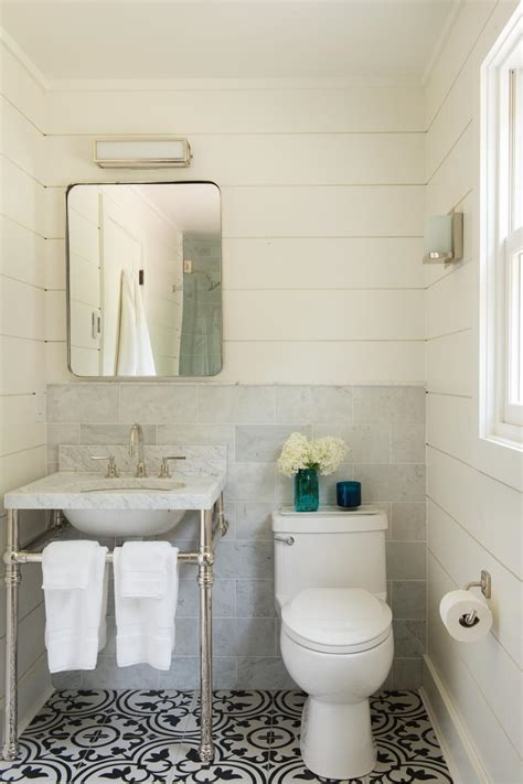 black cream white small bathroom decorating sles i see this farm caretaker s cottage turned cozy getaway