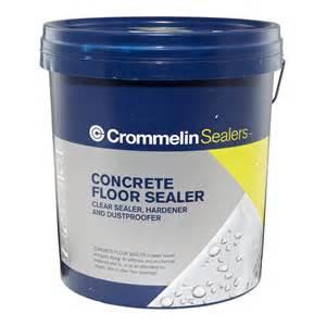 crommelin 15l concrete floor sealer bunnings warehouse