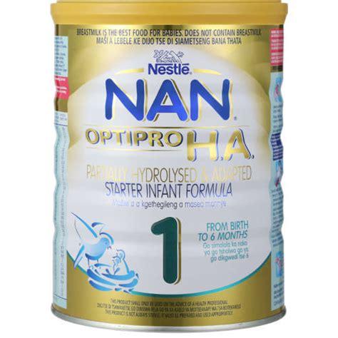 Formula Nan Ha 1 nestle nan optipro h a stage 1 starter infant formula 800g