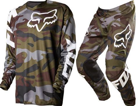 camo motocross gear fox mx 2015 le 180 camo green sx15 motocross dirt bike mtb