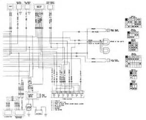 honda shadow vt1100 wiring diagram and electrical system