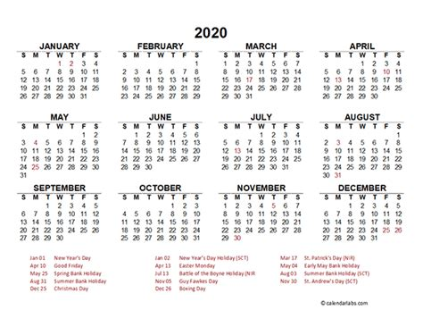 singapore yearly calendar template excel  printable templates