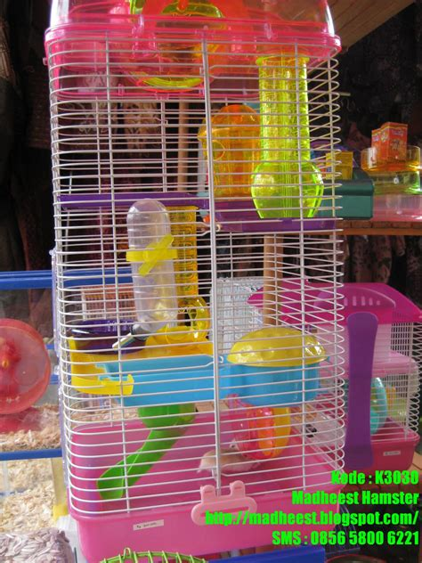 Kandang Hamster 231 2 Lantai madhee s hamster sugar glider new produk kandang hamster mewah k3030