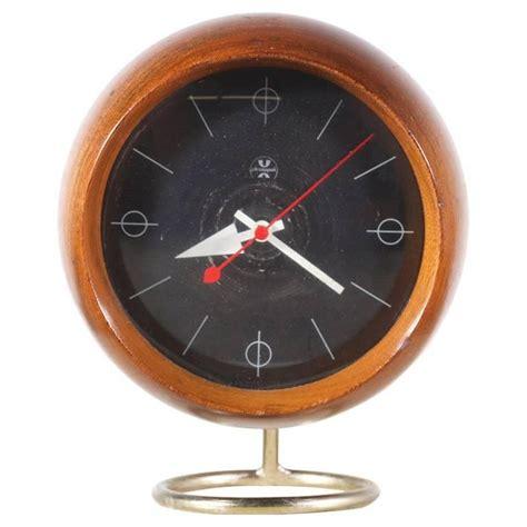 george nelson chronopak orb desk clock for howard miller