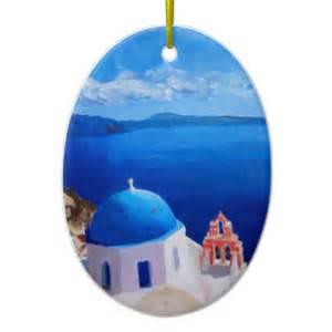 greece christmas ornaments greece ornament designs zazzle