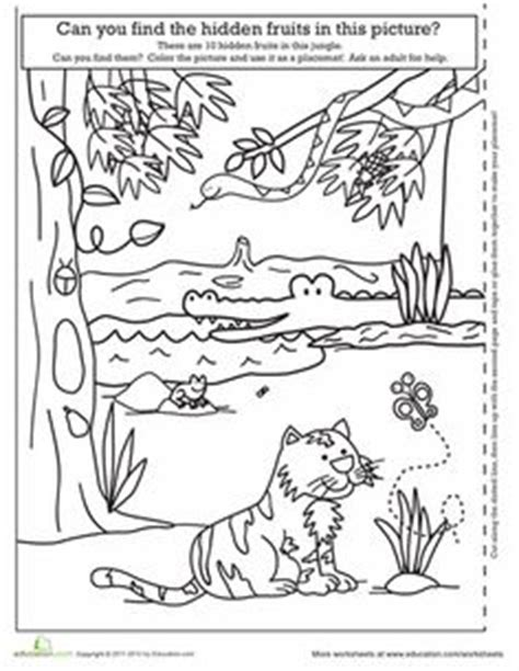rumble in the jungle on pinterest worksheets preschool