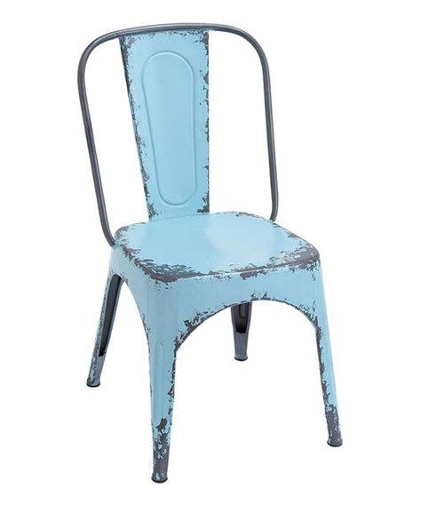 Blue Metal Chairs blue metal chair