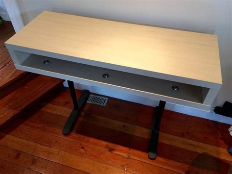 Cheap Standing Desk Ikea Ikea Standing Desk Hack Standing Desk With Ikea Standing Desk Hack I Was Looking For A