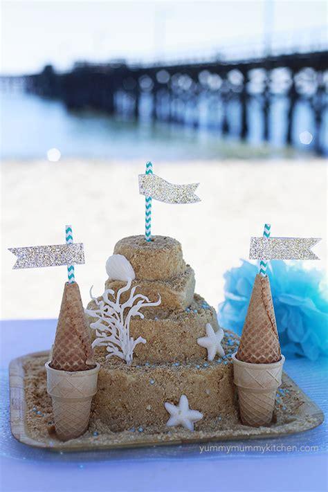 ocean beach themed kids birthday party ideas
