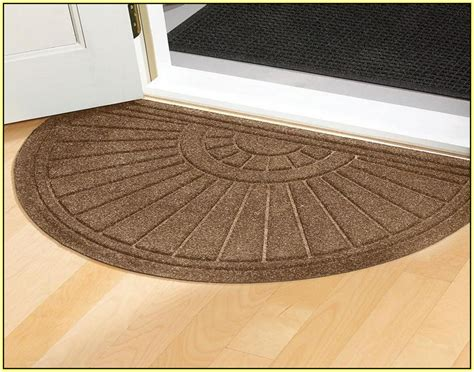 half rugs home design ideas
