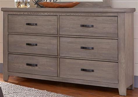 Weathered Grey Dresser by Cassel Park Weathered Gray 6 Drawer Storage Dresser From