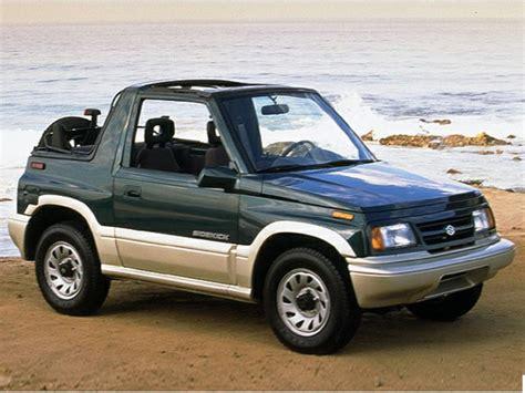 Suzuki Sidekick Gas Mileage Compare Fuel Economy Side By Side Autos Post