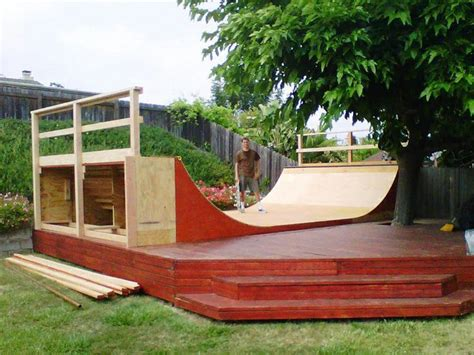 building a halfpipe in your backyard 7 best images about mini r on pinterest sheds