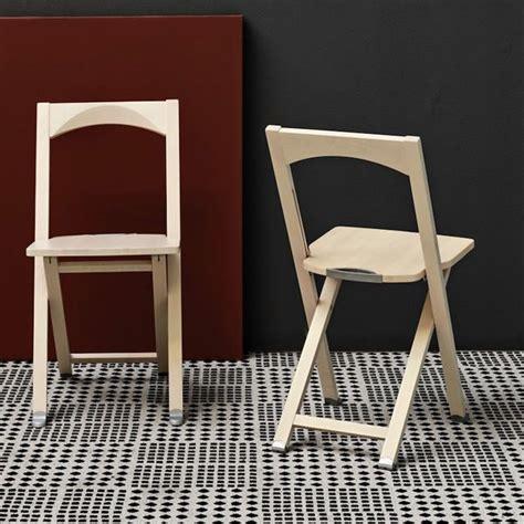 sedie pieghevoli legno cb208 sedia pieghevole connubia calligaris in