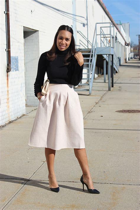 pastel pleated midi skirt the way to my hart
