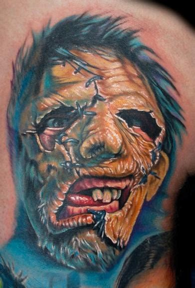powerline tattoo powerline tattoos evan olin leatherface from
