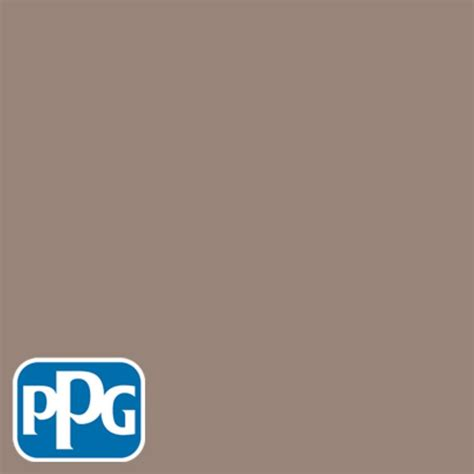 ppg timeless 5 gal hdppgwn11 mocha mauve flat exterior one coat paint with primer hdppgwn11x