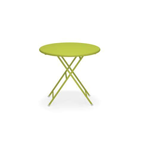 tavolo tondo pieghevole tavolo tondo pieghevole 216 80 da giardino esterno in