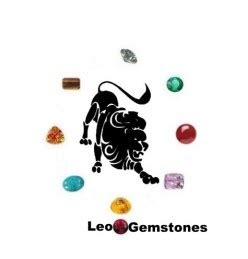 leo birthstone color leo gemstones