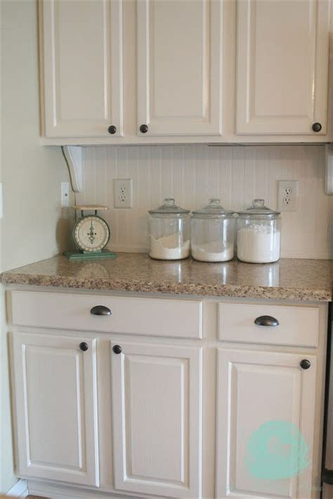 diy beadboard kitchen cabinets
