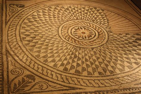 roman mosaic floor illustration ancient history encyclopedia