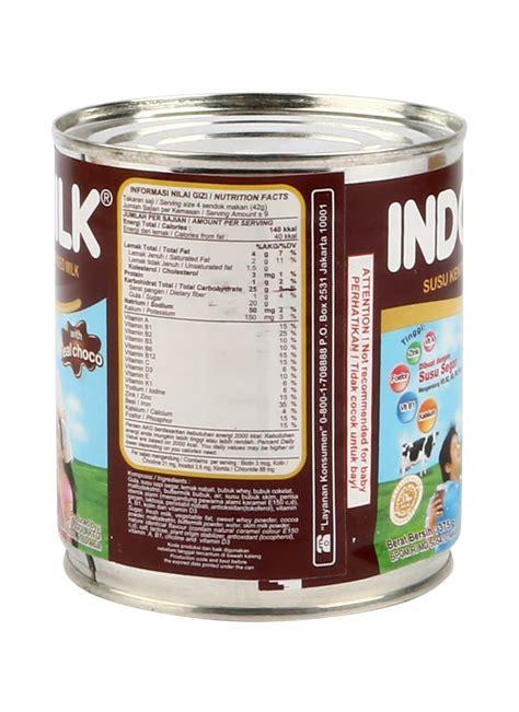 Indomilk Choclate indomilk kental manis chocolate klg 370g klikindomaret