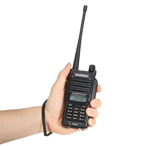 Baofeng R760 Waterproof baofeng bf r760 waterproof dual band 2 way radio ham transmitter walkie talkie ebay