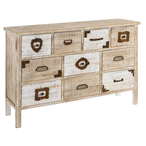 mueble natural mueble natural mueble comedor blanco y natural with