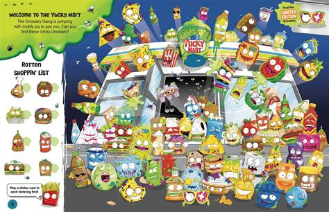 the grossery inside the yucky mart seek and find books the grossery inside the yucky mart seek and find