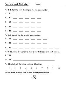 printable prime and composite numbers quiz pictures on math factor worksheets easy worksheet ideas