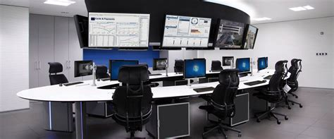 salas de control solutions for control rooms and command centers gesab