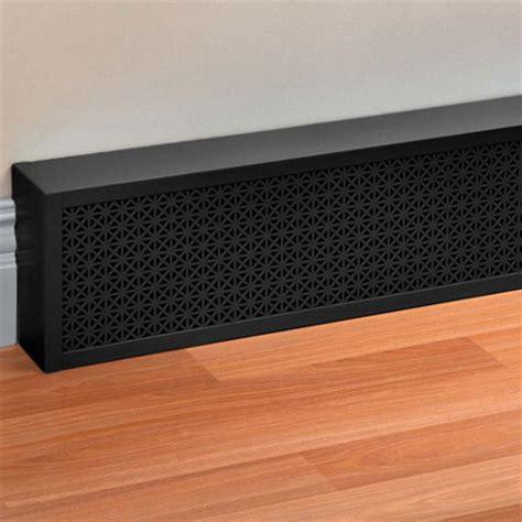 Designer Baseboard Heaters Decorative Baseboard Covers 8 Quot H Improvements Catalog