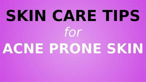 Care Tips 3 by The Top 3 Best Acne Skin Care Tips For Healthy Skin