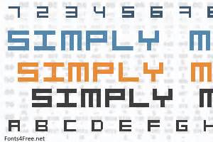 simply square font 1001 free fonts simply mono font fonts4free