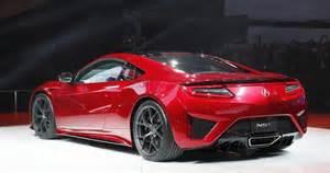 2015 Honda Nsx Civic Type R And Nsx Supercar At 2015 Geneva Motor Show