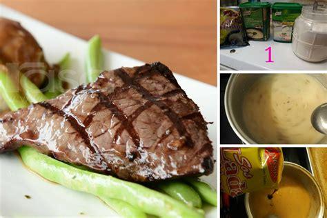 Stik Lada Hitam cara cara hasilkan sos lada hitam yang sedap untuk sajian