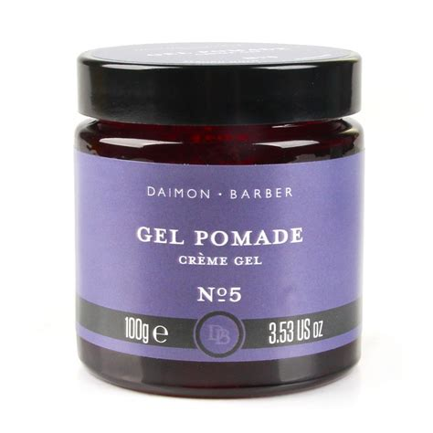 Pomade The Daimon Barber the daimon barber gel pomade no 5 gel