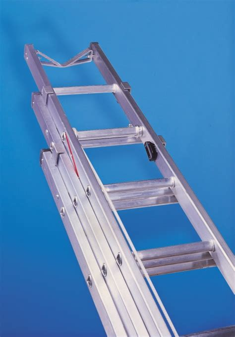 three section ladders aluminium telecommunication ladder three section to en131