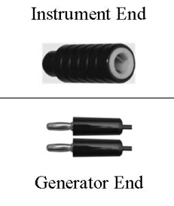 bipolar cables and generator plugs   electrosurgical