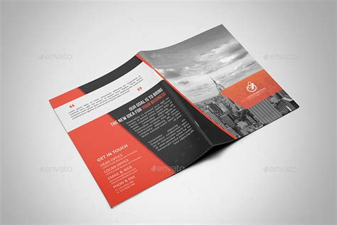 Corporate Bi Fold Brochure By Cristal P Graphicriver Bi Fold Brochure Template Illustrator
