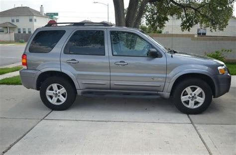 auto air conditioning repair 2007 ford escape windshield wipe control find used 2007 ford escape hybrid sport utility 4 door 2 3l in austin texas united states