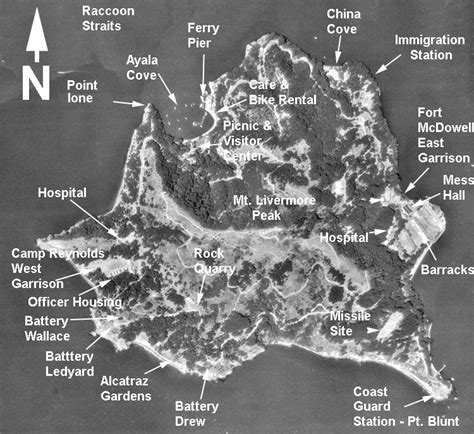 san francisco map coordinates island california
